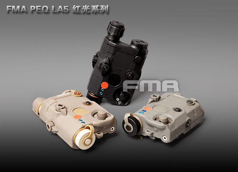 FMA PEQ LA5 Upgrade Version LED White Light + Red laser with IR Lenses