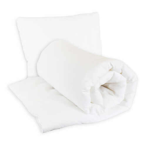 BABY DUVET /& PILLOW FILLED QUILT BEDDING CRIB 70x80 120x90 135x100 COT COTBED