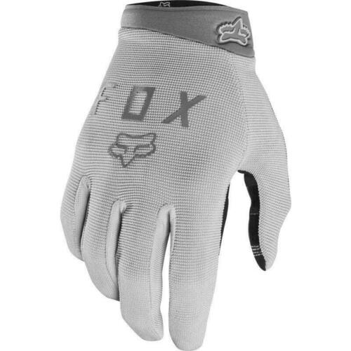 MTB // BMX Bicycle Fox Steel Grey Ranger Gel Full Finger Gloves