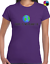 THERE IS NO PLANET B LADIES T SHIRT ENVIRONMENT RECYCLE SAVE SEAS CLIMATE CHANGE