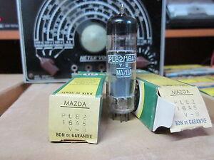 2 LAMPE-TUBE ÉLECTRONIQUE PL82-16A5..Mazda ..NOS.NIB.NEUF..Testé Metrix LX109A mW0aQd4a-09092056-158091989