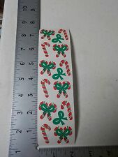 CREATIVE MEMORIES CANDY CANES CHRISTMAS STICKERS SCRAPBOOKING NEW A2791