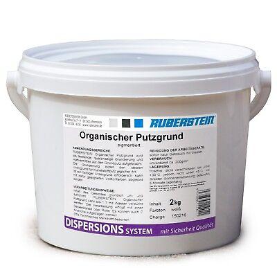 Weiß Ruberstein Organischer Putzgrund 2 Kg Im Eimer Direkt Vom Hersteller