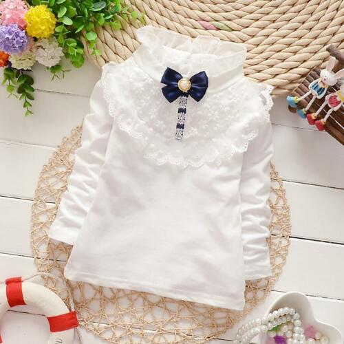 Newborn Baby Girl 100/% Cotton Clothing Toddler Infant Flowers Tshirt Blouse Tops