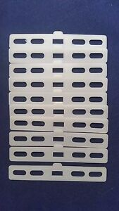 10 Pack Vertical Blind Fabric Hanger Inserts For Top Of