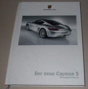 Hardcover Information Porsche Cayman S Konsequent Porsche Stand Juni 2005 - Wilhelmshaven, Deutschland - Hardcover Information Porsche Cayman S Konsequent Porsche Stand Juni 2005 - Wilhelmshaven, Deutschland
