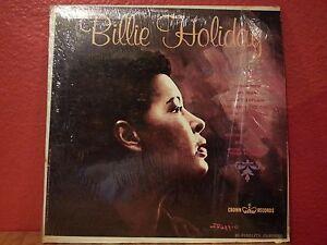 BILLIE-HOLIDAY-amp-VIVIAN-FEARS-LP-VINYL-VG-CLP-5380-Mono-USA-Crown-Jazz