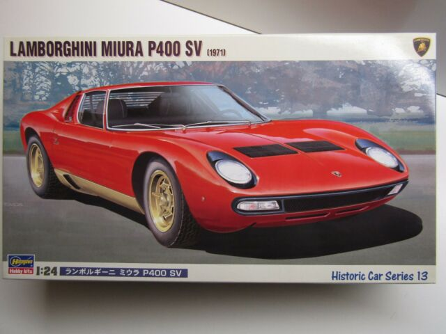 Hasegawa 1 24 Scale Lamborghini Miura P400 Sv 1971 Model Kit