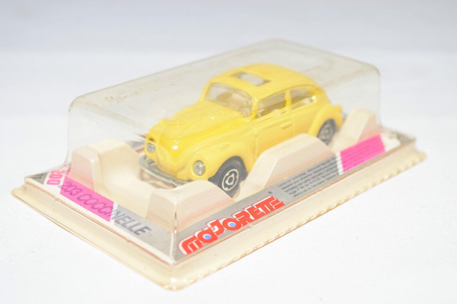 Majorette 203 202 vw volkswagen käfer kafer coccinelle gelb - boxen selten