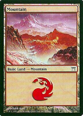 MTG Mountain #302 Mirrodin Foil NM+