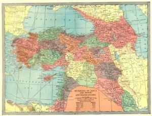 TURKEY IN ASIA Transcaucasia Levant Georgia Syria Iraq Azerbaijan
