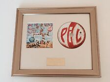 SIGNED/AUTOGRAPHED PIL JOHN LYDON - WHAT THE WORLD NEEDS NOW FRAMED CD. ROTTEN