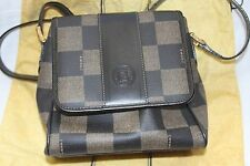 AUTHENTIC FENDI VINTAGE CHECKERED HANDBAG