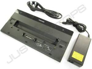 Toshiba Portege R830-003 R830-00R R830-00S Dockingstation Port Replikator+ PSU