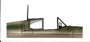 Squadron Dewoitine D520 Clear Aircraft Canopy SQ9410