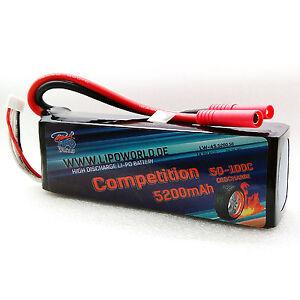 Lipo-World-Competition-Akku-4S-14-8V-5200mAh-50C-100C-DJI-Boot-Copter-Drohne