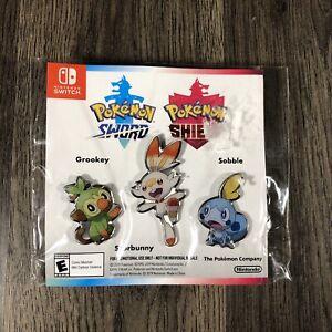 Nintendo Switch Pokemon Sword/Shield Pins