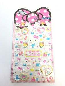 Hello-Kitty-Stickers-Lovely-1-Sheet-Free-Shipping-Girly-Pinky