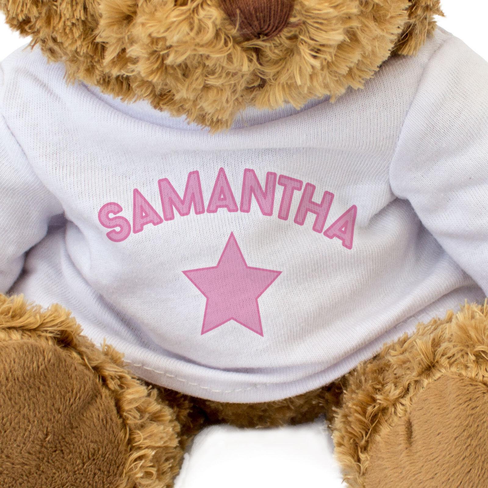 Nuevo - Samantha - Oso de Peluche - Lindo Lindo Lindo y Tierno - Regalo Presente 09c985