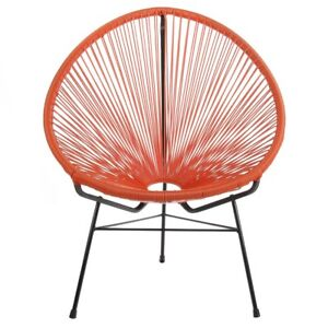 Fine Details About Acapulco Indoor Outdoor Lounge Chair Papasan Basket Chair Orange Camellatalisay Diy Chair Ideas Camellatalisaycom