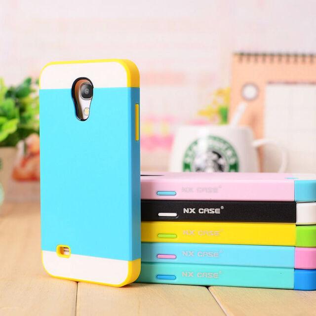 Fine Hybrid Impact Hard Case Cover Skin for Samsung Galaxy S4 mini i9190 i9500
