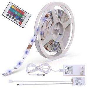 5m-Led-Strips-RGB-Stripe-Light-bar-5050-SMD-Light-Tube-Color-Change