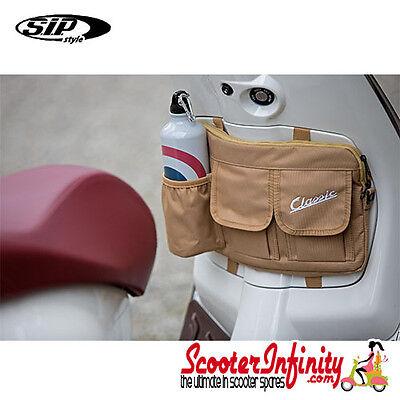 """Bag Glovebox Toolbox """"Classic"""" (Beige)  VESPA PX PE LML GTS GTV LX T5 ET"""