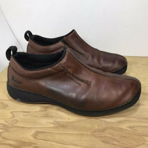 Dr Martens Brown leather loafers mens size US13 Do