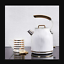 1.7L Marble white Jug Kettle Steel Kettle Cordless Electric 3KW