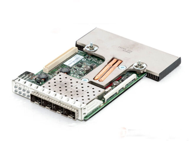 New Dell Broadcom 57840S 10Gb SFP Quad Port Daughter Network Card XGRFF