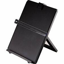 Document Paper Holder Stand Organizer Vintage Page For Office Desk Plastic Black