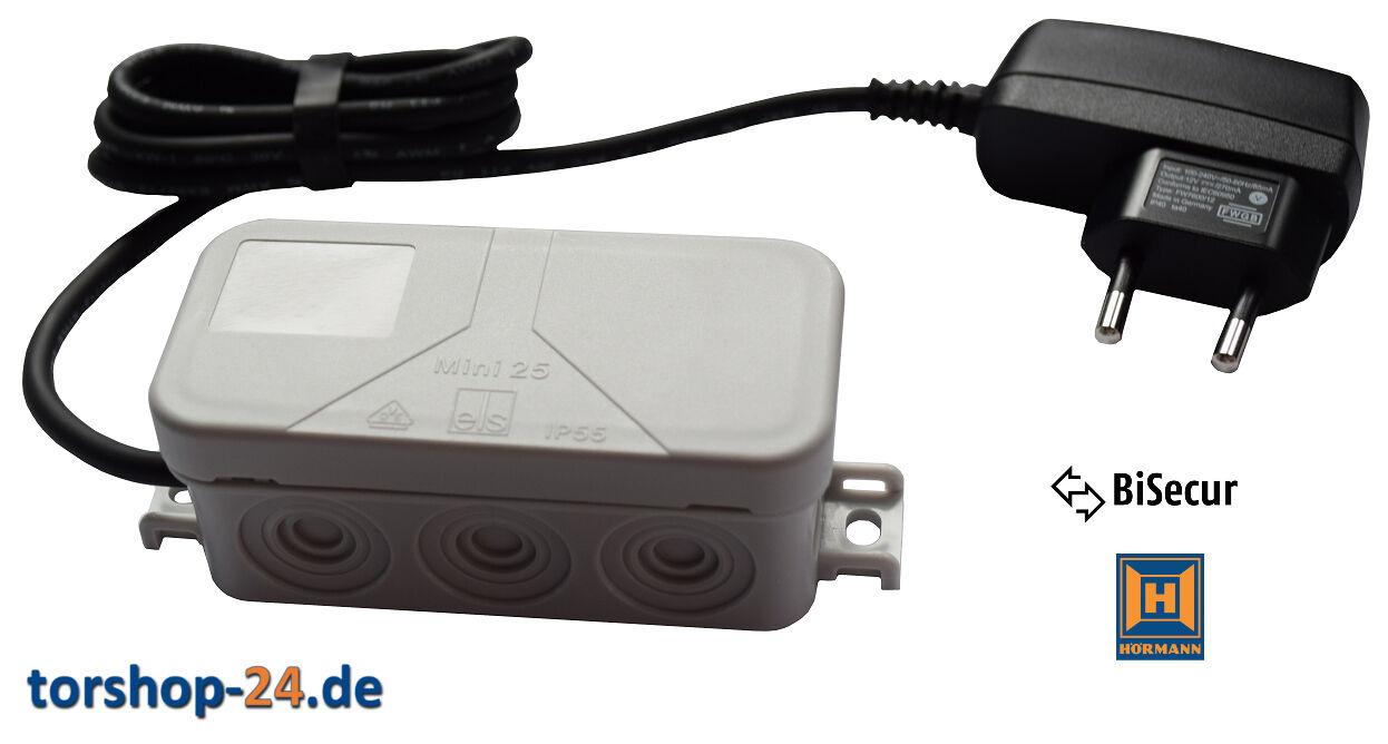 Hörmann Funkempfänger HET/S 2 BS 868 MHz Empfänger BiSecur Funk HET 2 universal