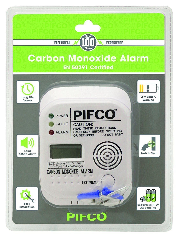Nuevo detector de alarma de monóxido de carbono-COD100B-CO Pantalla Digital año de vida