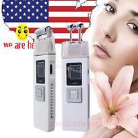 Usa Cordless Galvanic Roller Beauty Facial Cleanser Skin Care Spa Salon Machine