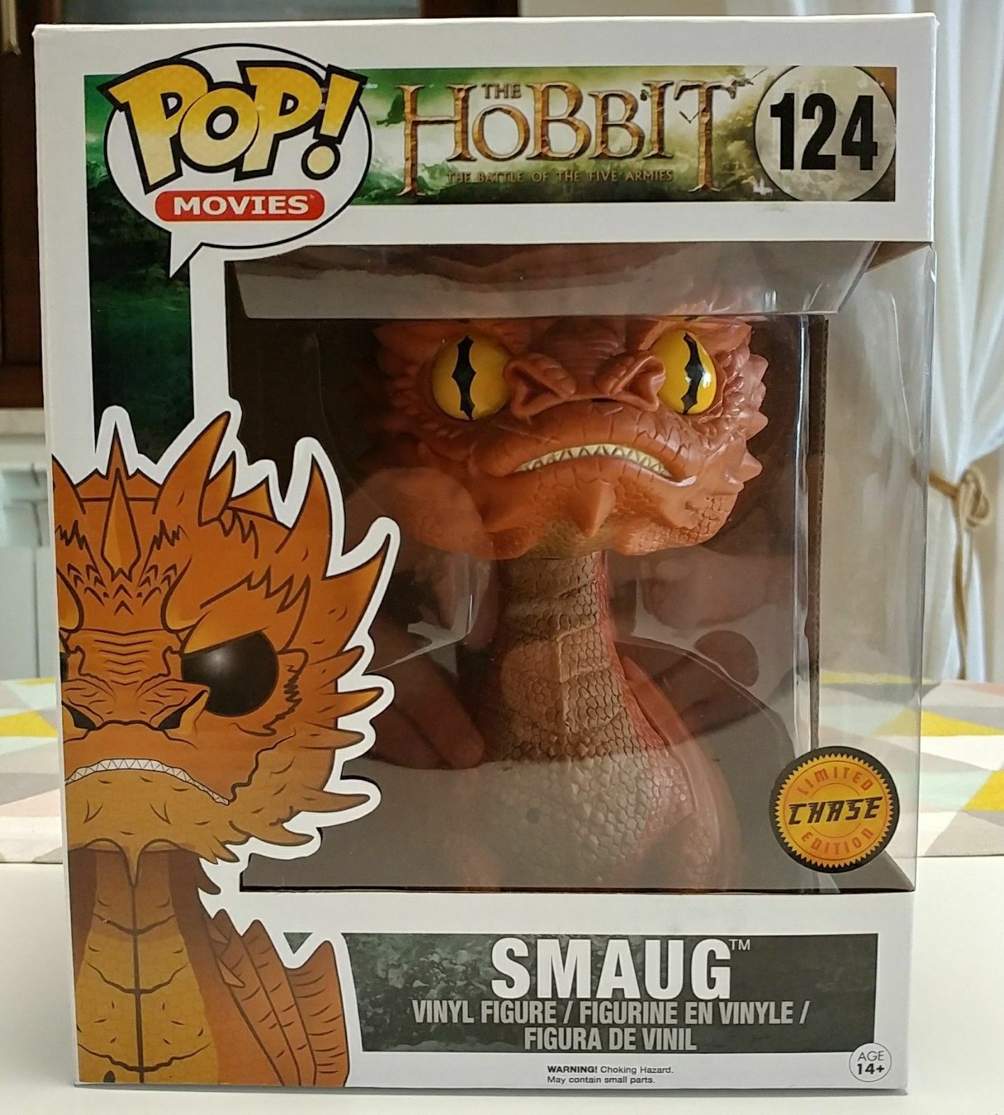 Funko Pop  VAULTED The Hobbit - Smaug Chase