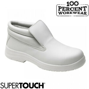 Nurses-Medical-Kitchen-Catering-Food-Hygiene-Slip-On-Lightweight-Safety-Boots