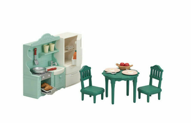 Sylvanian Families DINING ROOM SET SE-198 Epoch Calico Critters