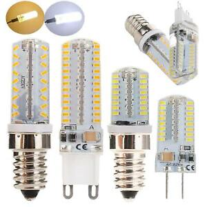 Dimmable-LED-Corn-Bulb-Light-G9-G4-E12-E14-3014-SMD-Replace-Halogen-Lamp-Bright