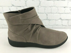 Clarks Sillian Tana Womens Pewter Ankle