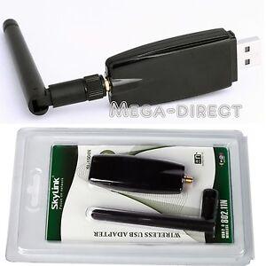 1045-USB-Wireless-LAN-Adapter-WIFI-802-11-B-G-N-Antenna-300M