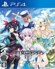 New PS4 4 Four Goddesses Online CYBER DIMENSION NEPTUNE Japan PLJM-80219