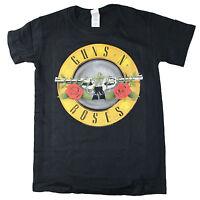 OFFICIAL Guns N' Roses Logo Classic Slash Axl Unisex Premium Quality T-Shirt 1B