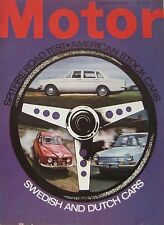 Motor magazine 19/8/1967 featuring Triumph Spitfire MkIII road test, DAF 44