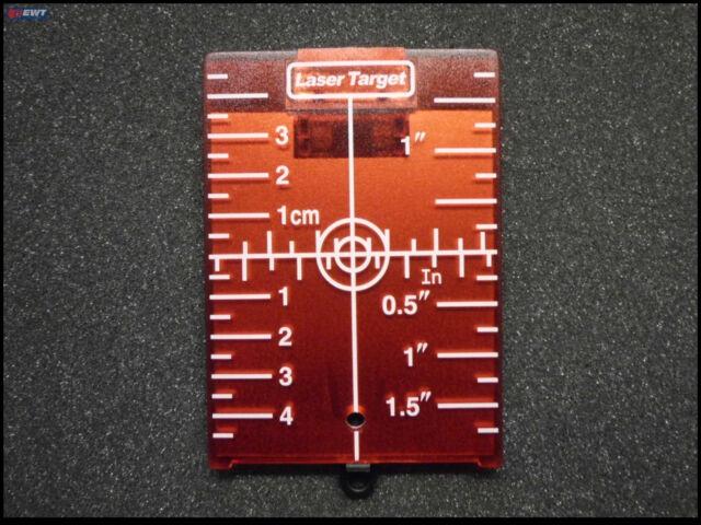 Laser Entfernungsmesser Mit Magnet : Stanley by dewalt zieltafel gt mit magnet ebay