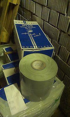 Harv Qualität Stretchfolie 75cm x1500m Wickelfolie Siloballenfolie WEISS 0,07€//m