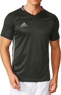 Adidas Condivo 16 Mens Short Sleeve Training Top - Black