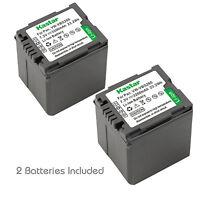 2x Kastar Battery For Panasonic Vw-vbg260 Sdr-h41 Sdr-h50 Sdr-h60 Sdr-h79 H80