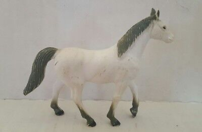 Toys & Hobbies Imperial Horse Toy White Gray Vintage Smoothing Circulation And Stopping Pains Action Figures