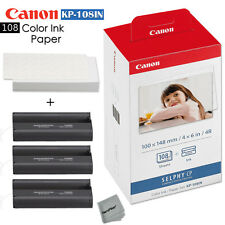 Canon Selphy CP910 Ink and Paper - 108 sheets with 3 toners KP-108IN