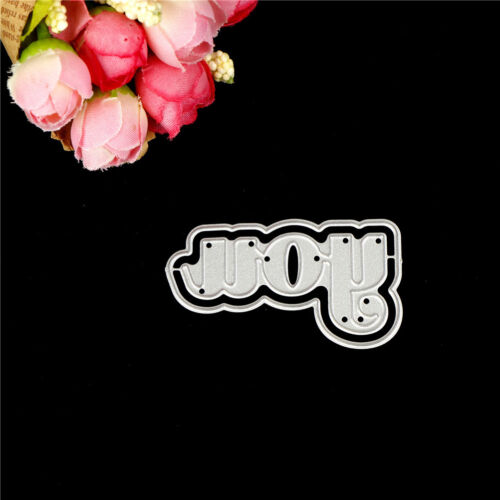 Letter Words you Metal Cutting Dies For DIY Scrapbooking Card Craft Decor RDR